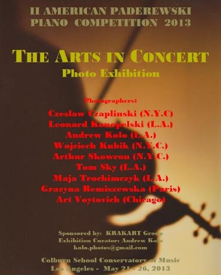 American Paderewski Piano Competition 2013 Photo Exhibition